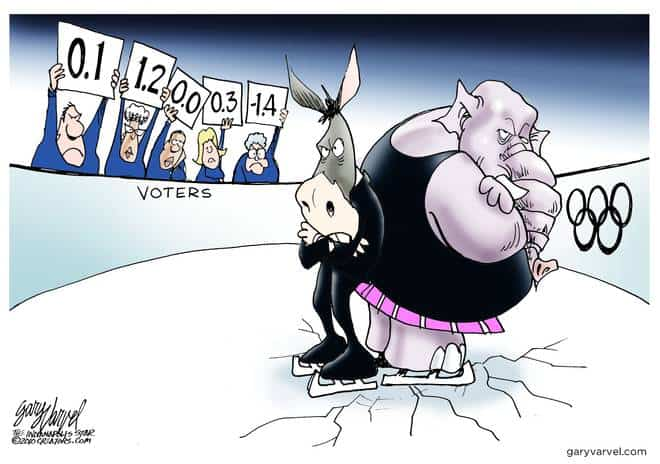 Editorial Cartoons by Gary Varvel - gv20100215cd - 15 February 2010