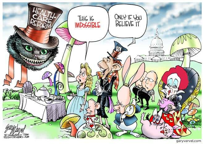 Editorial Cartoons by Gary Varvel - gv20100225cd - 25 February 2010