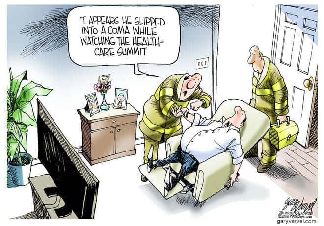 Editorial Cartoons by Gary Varvel - gv20100226cd - 26 February 2010