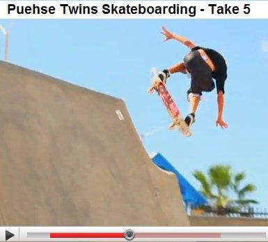 puehse skateboarding