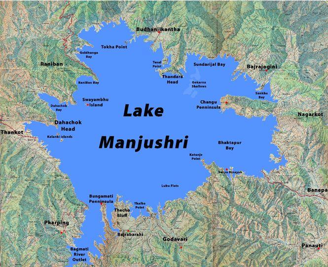 lake manjushri