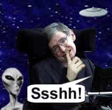 Ssshh Dont contact Aliens!