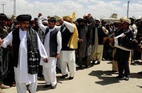 afghans celebrate