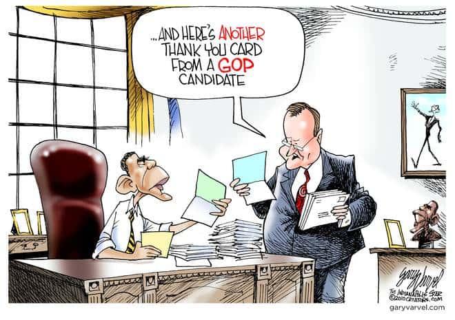 Editorial Cartoons by Gary Varvel - gv20100418cd - 18 April 2010