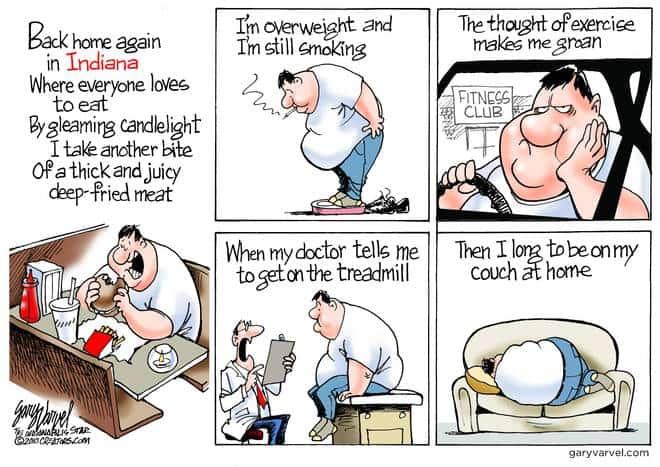 Editorial Cartoons by Gary Varvel - gv20100526cd - 26 May 2010
