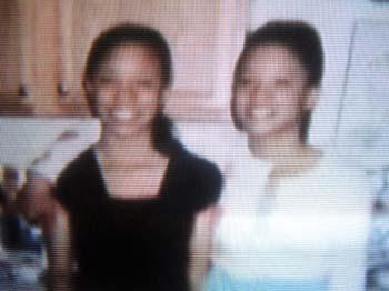 Tas and Jas, Nikki Whitehead's twins.