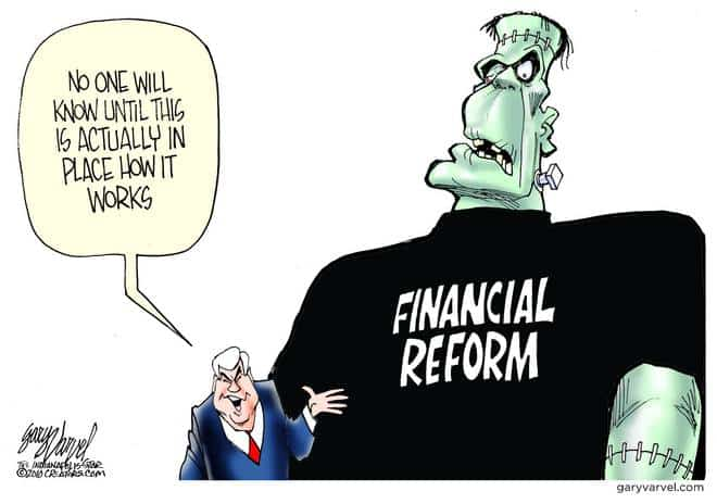 Frankly, Financial Reform Is A Monster