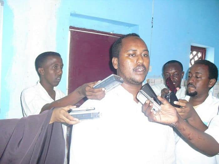 Mohamed Abdullahi President of students Union