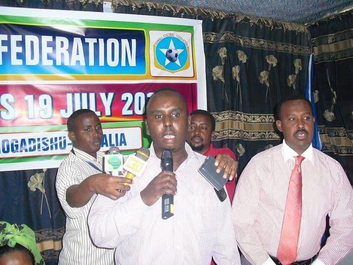 Somali Football Federation President Said Mahmoud Nur