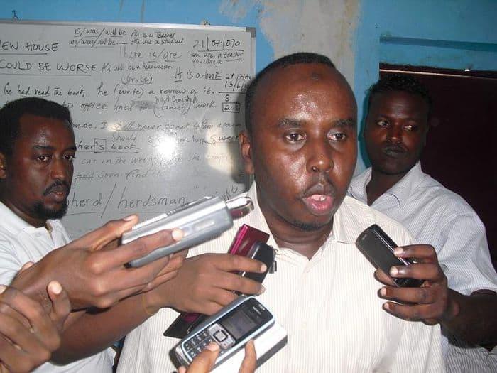 Somali football bos Saidf Mahmoud Nur