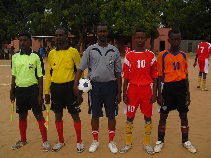 referee and captains