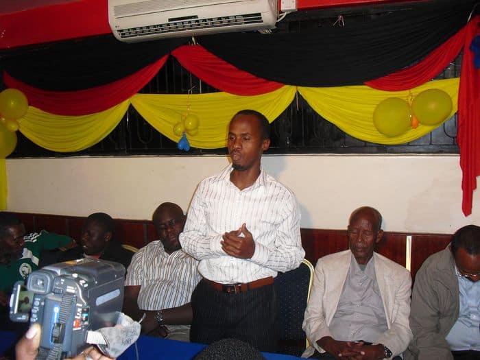 Banadir Telecom FC Deputy boss Abokar Mohamed Sheik