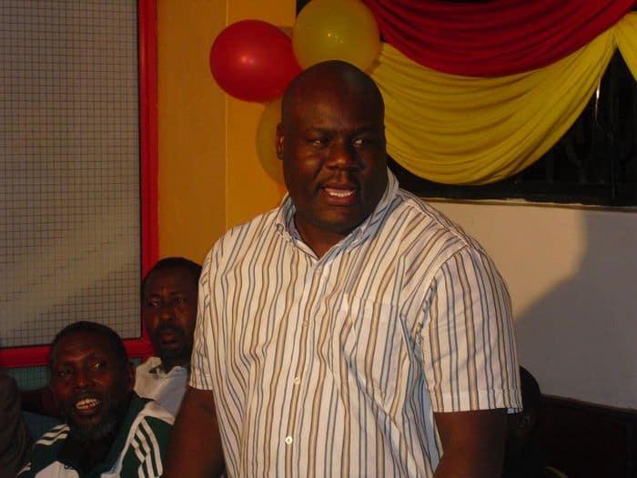Chairman of the Nairobi region for FKL Dennis Shilibwa