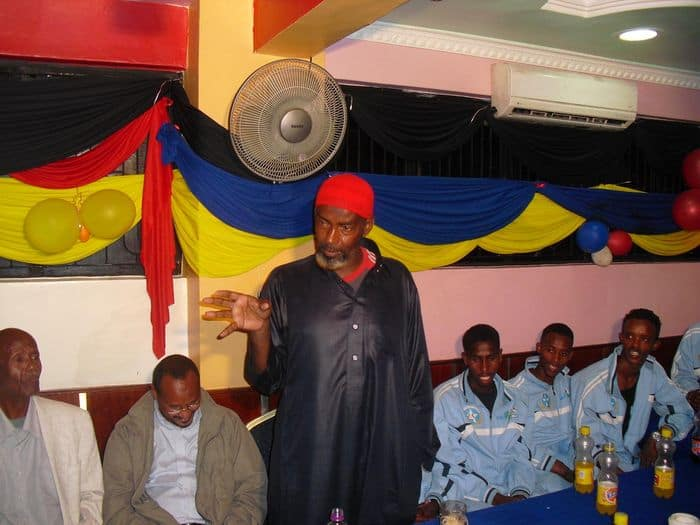 Former coach Abdi Farah Ali