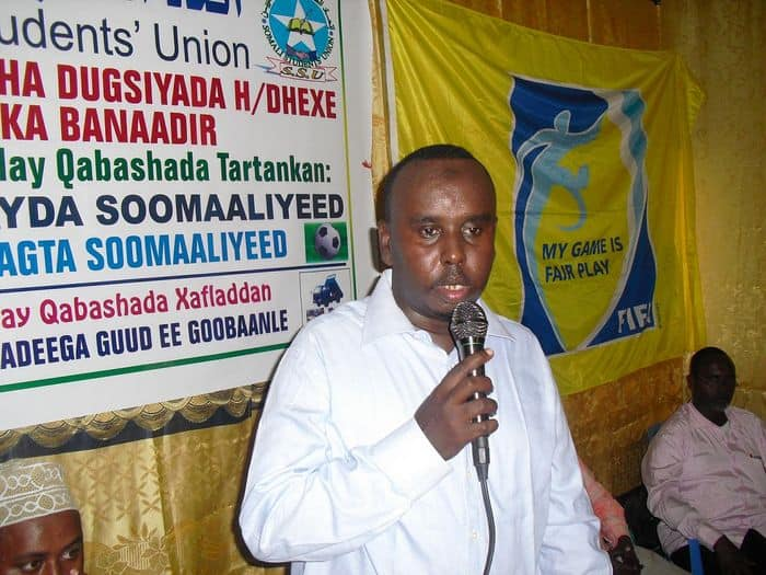 Somali FA boss