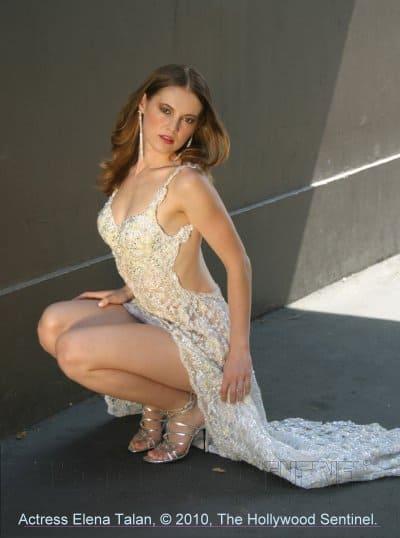 elena whitedress