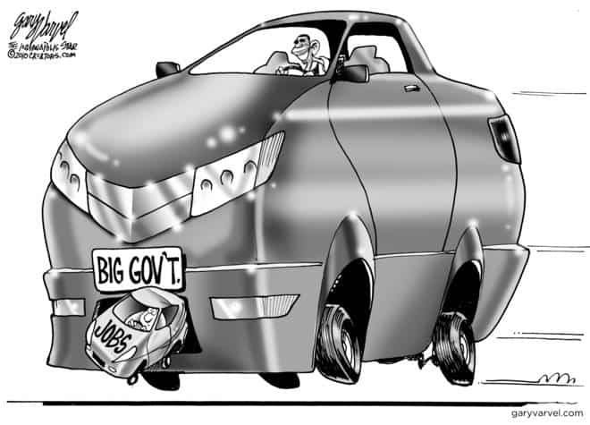 Editorial Cartoons by Gary Varvel - gv2010082010cd - 20 August 2010