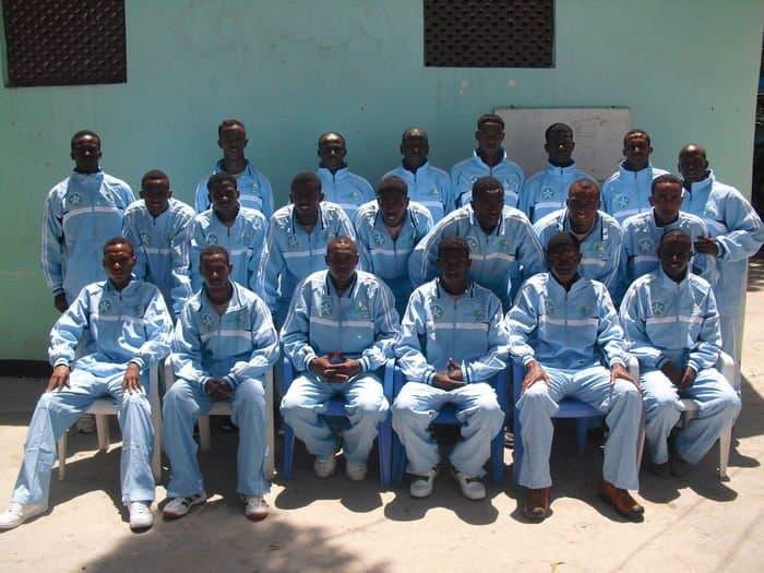 the Somali U 20 squad