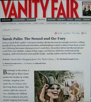 Vanity Pair Sarah Palin