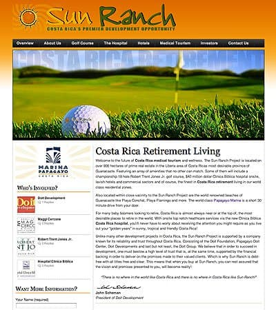 Costa Rica retirement community