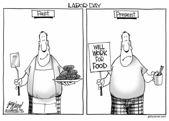 Labor Day, the American icon, is different now