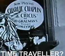 Charlie Chaplin Time Traveller