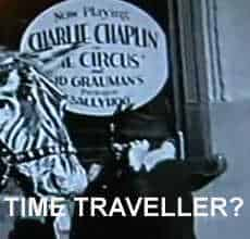 Charlie Chaplin Time Traveller
