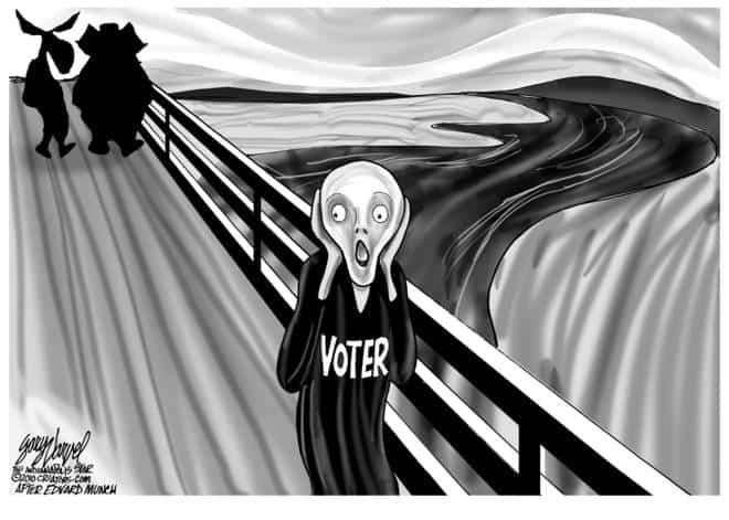 Editorial Cartoons by Gary Varvel - gv2010100810cd - 08 October 2010