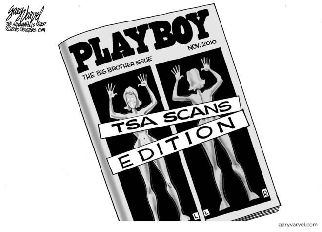 TSA Newsletter Now More Raunchy Than Playboy