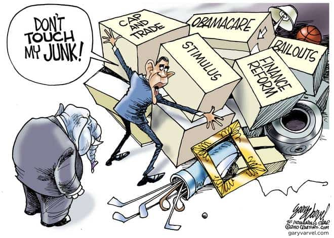 Editorial Cartoons by Gary Varvel - gv2010101121cd - 10 October 2010