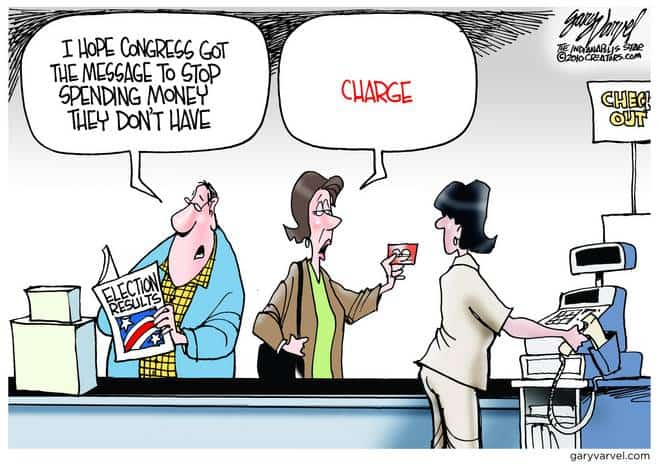 Editorial Cartoons by Gary Varvel - gv2010101126cd - 10 October 2010