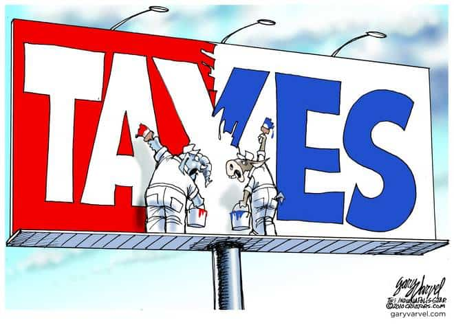 Tax and Spend Congress Still Fighting, Still Taxing
