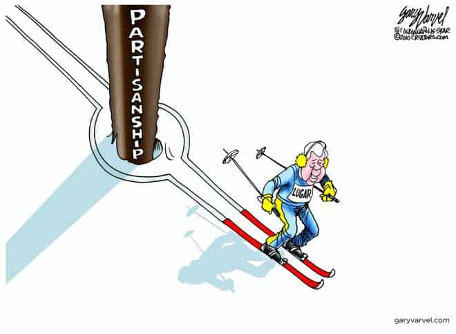 How Did Lugar Ski Around Partisanship