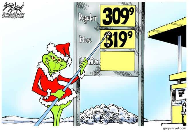 The Christmas Grinch Sets Gas Prices