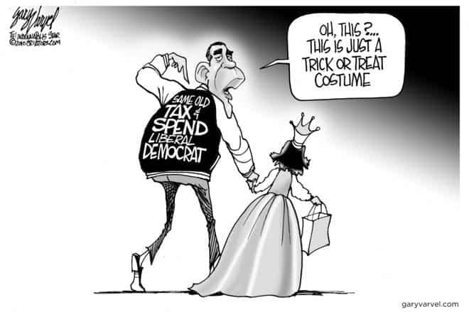 Editorial Cartoons by Gary Varvel - gv2010102010cd - 20 October 2010