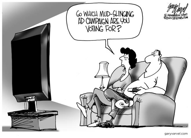 Editorial Cartoons by Gary Varvel - gv2010102110cd - 21 October 2010