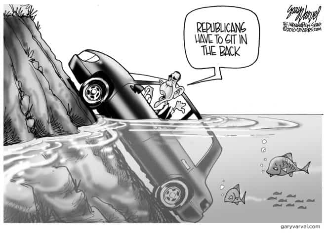 Editorial Cartoons by Gary Varvel - gv2010102810cd - 28 October 2010