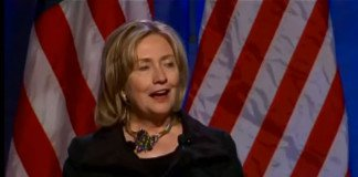 hillary clinton at the commonwealth club.