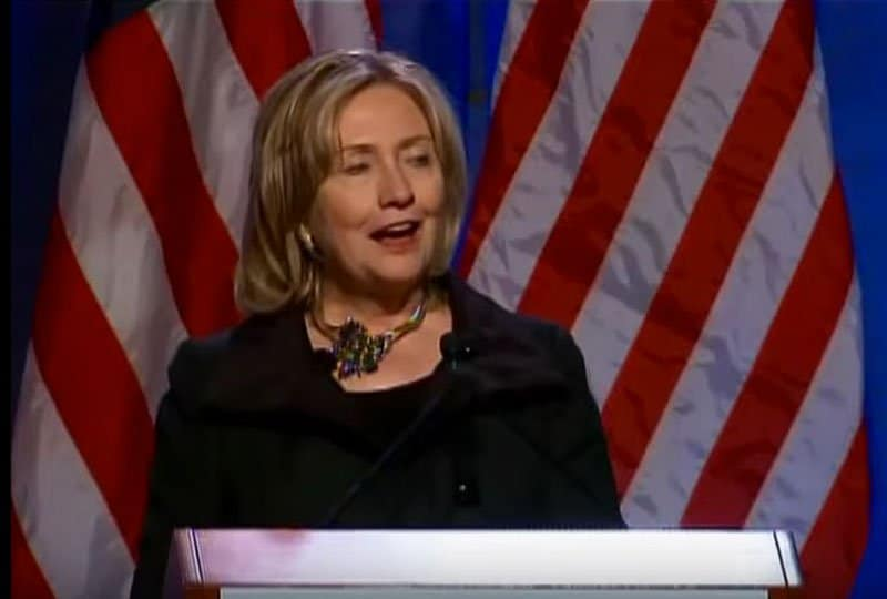 hillary clinton speaks about innovation at the commonwealth club.