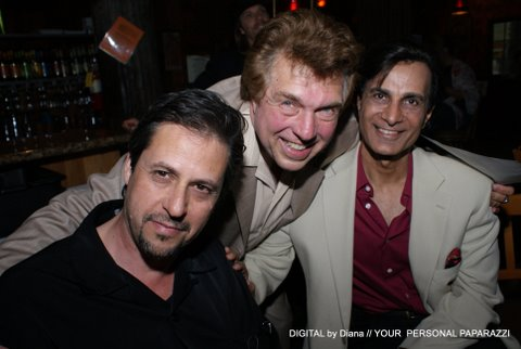 Brando Unauthorized, Damian Chapa and son Gabriel with Pete Allman. Photo By Diana Ligon