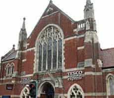 New Tesco Store