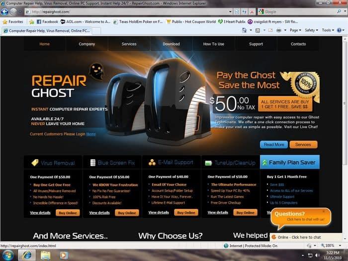 RepairGhost.com