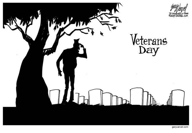 Remember to thank the veterans who helped us get what we have.