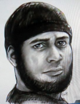 police sketch of killer