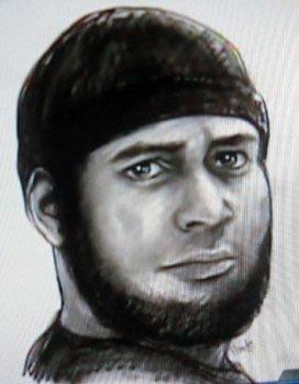 police sketch of killer
