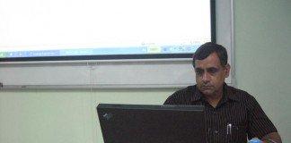 Dr. Ravindra Kumar at Burapha University, Thailand