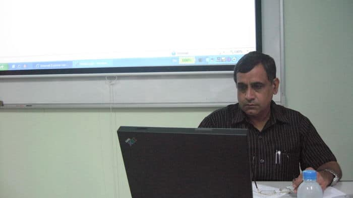 Dr. Ravindra Kumar at Burapha University, Thailand