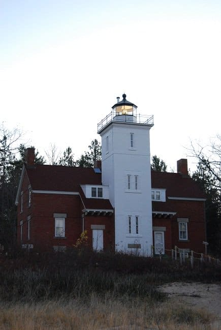 Light House Lake Huron Great Lakes Michigan Road Trekin Adventures
