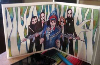 grinderman booklet