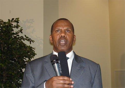 Athletics coach Jama Mahmoud Aden
